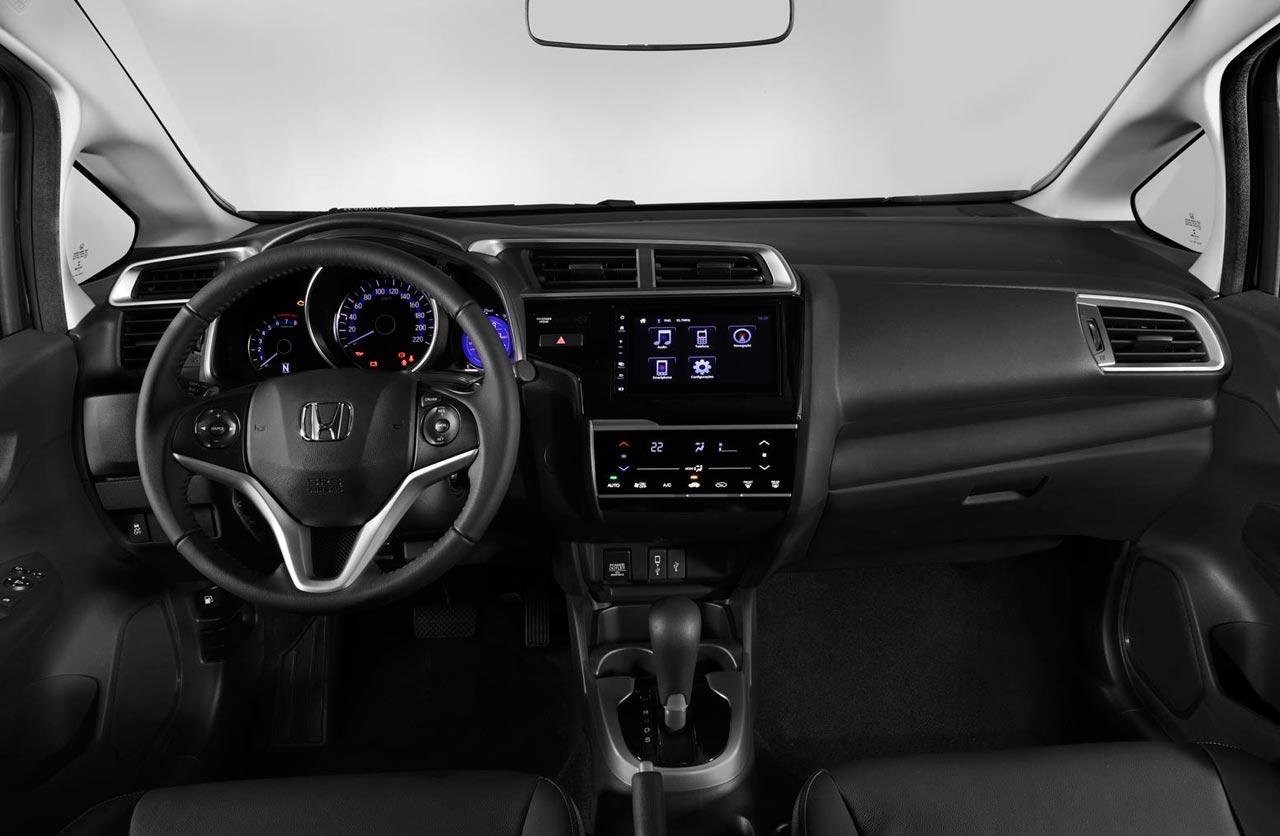 Honda Fit Brasil Interior