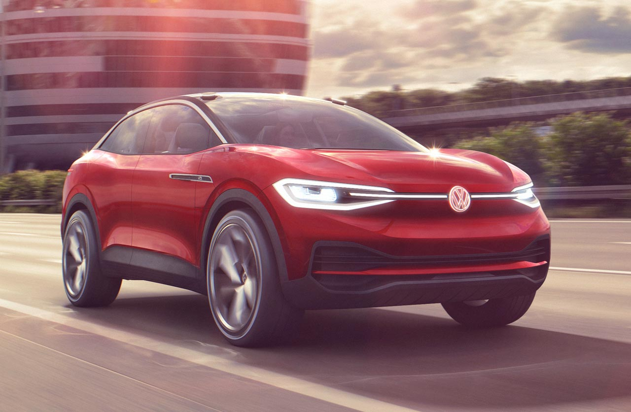 I.D. Crozz II, el SUV eléctrico de Volkswagen