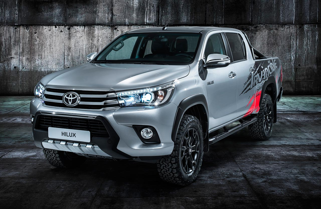 Hilux Invincible: 50 años de la pick up de Toyota