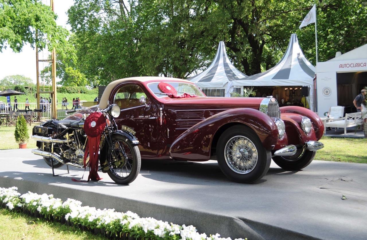 """Una Bugatti Type 57 C Atalante, """"Best of Show"""" de Autoclásica 2017"""