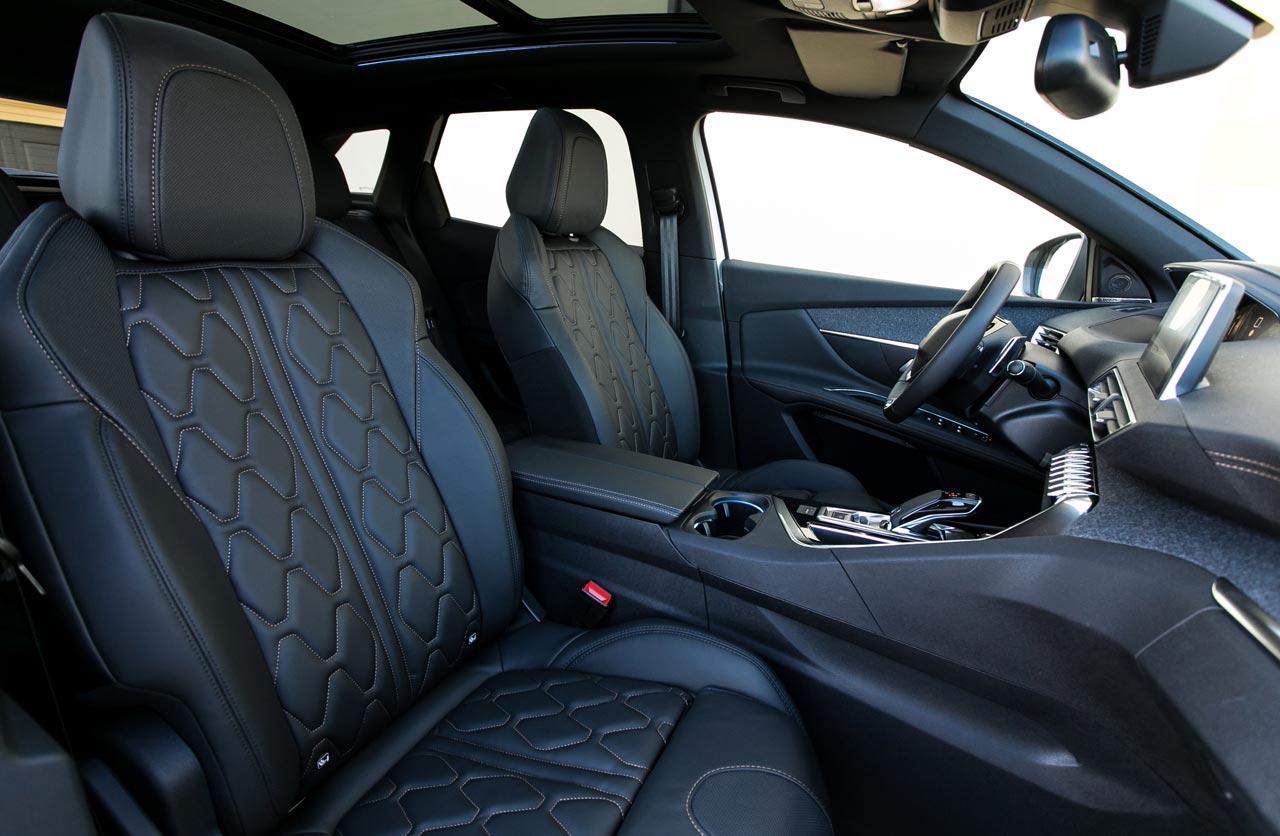 Interior nuevo Peugeot 3008