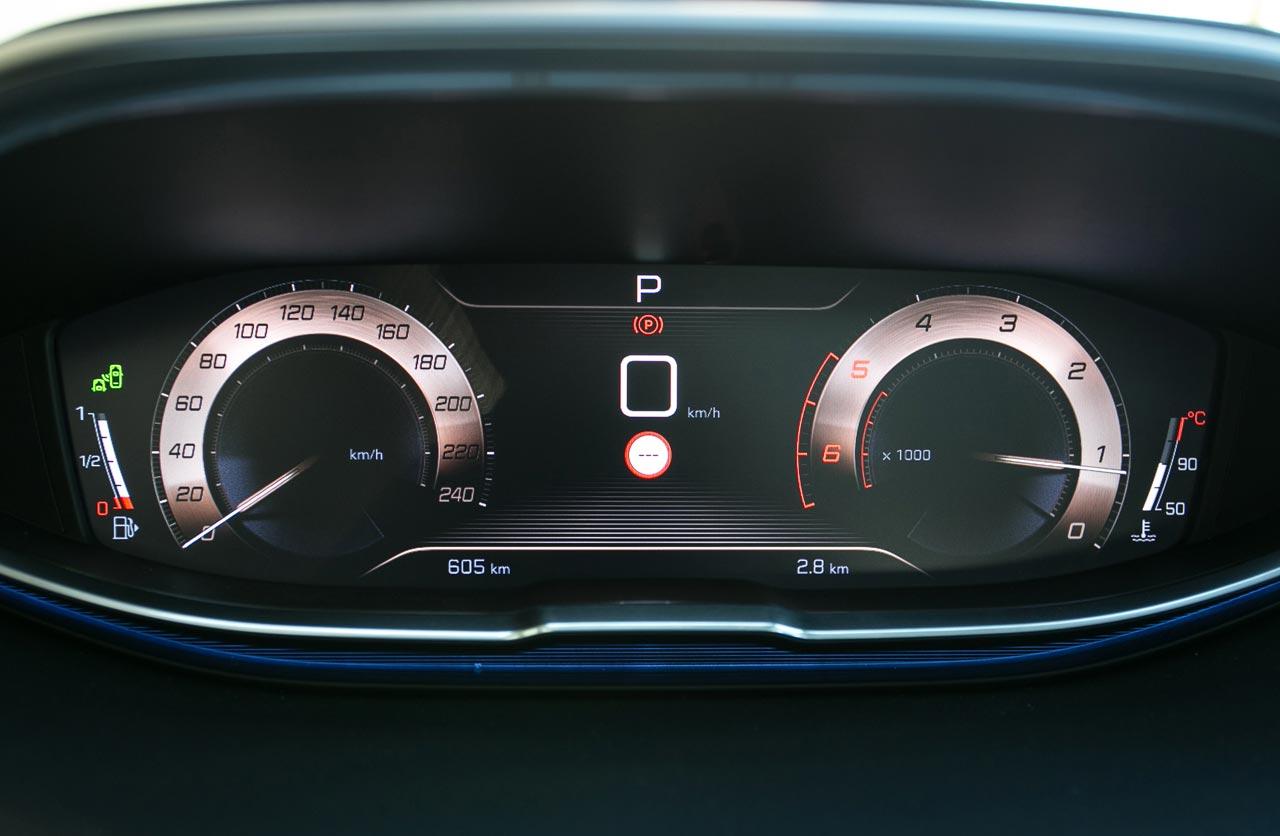 Tablero digital Peugeot 3008