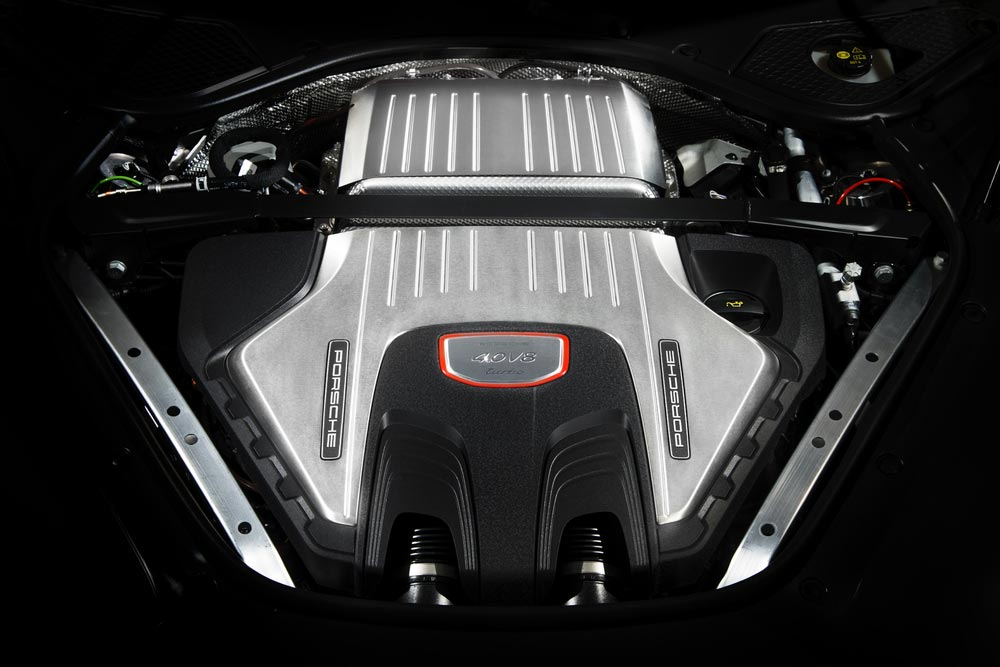 Motor Porsche Panamera