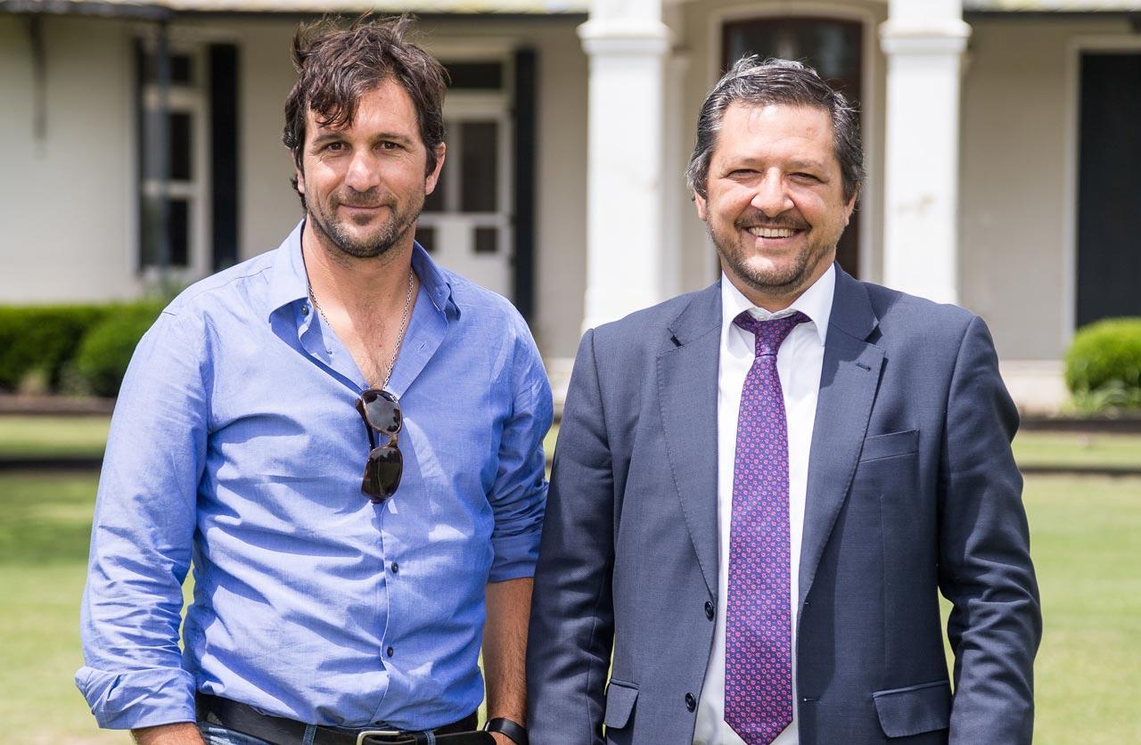 Hernán Vazquez y Eduardo Novillo Astrada (h)