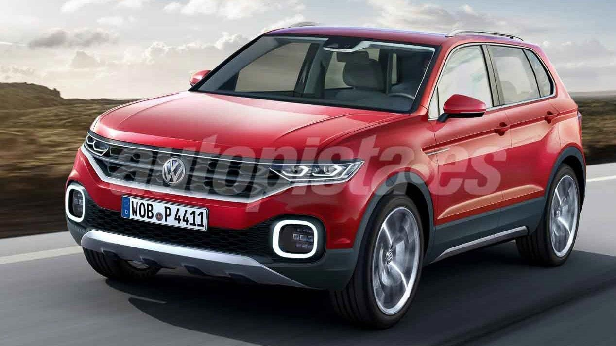 Nuevo anticipo del futuro SUV chico de Volkswagen - Mega Autos
