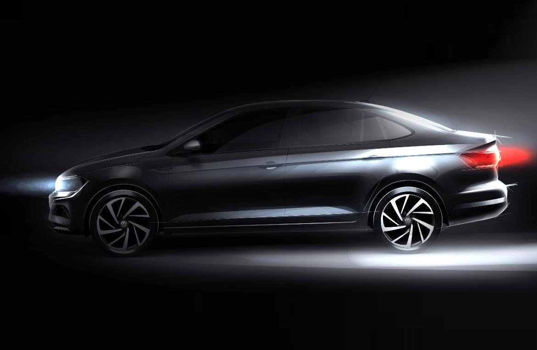 Volkswagen comienza a mostrar el Virtus