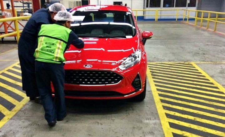 rediseño Ford Fiesta brasil