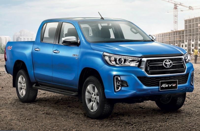 Primer rediseño para la Toyota Hilux