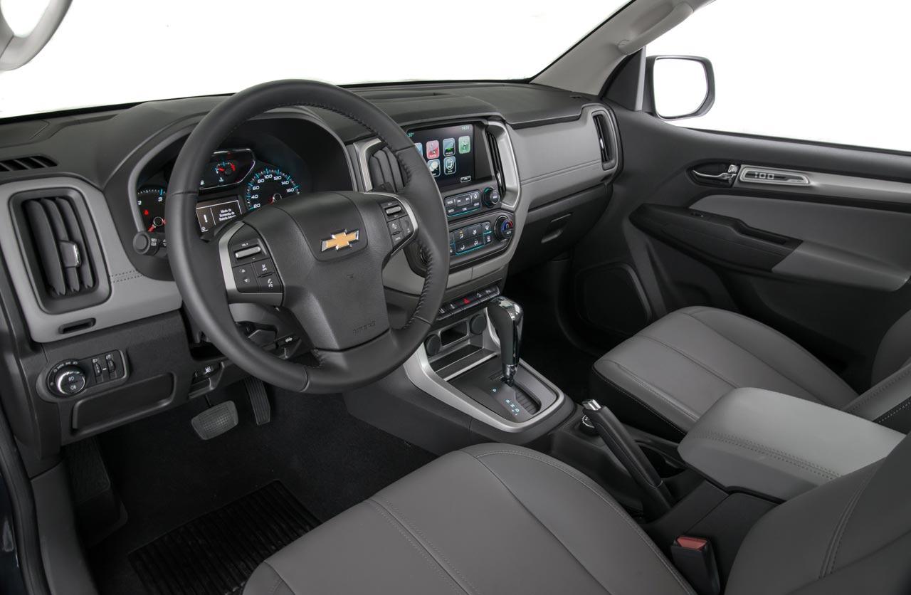 Interior Chevrolet S10 100 Años