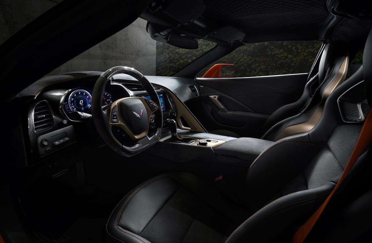 Interior Chevrolet Corvette ZR1