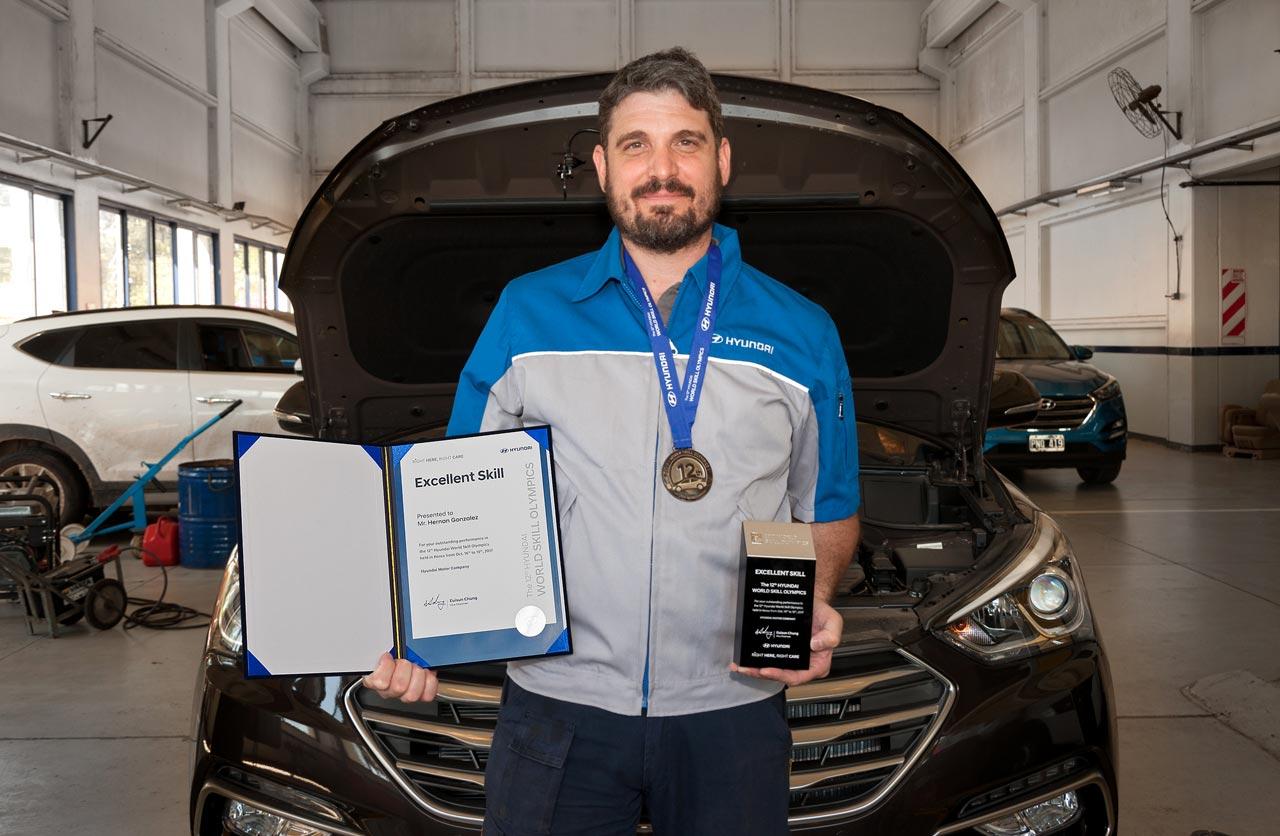 Hernán González, de Hyundai Motor Argentina