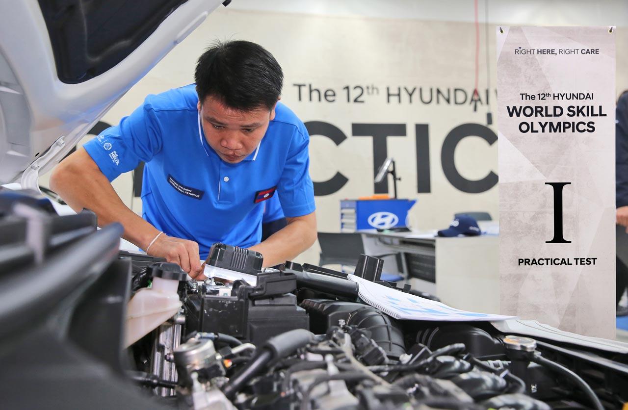 Dos de los mejores Técnicos Master Hyundai del mundo son argentinos