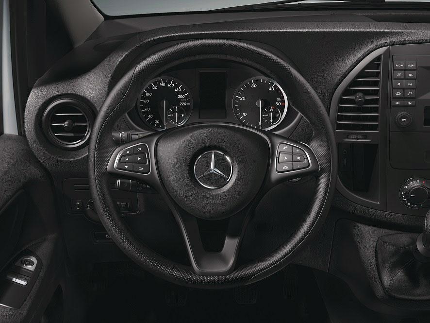 Interior Mercedes-Benz Vito Plus