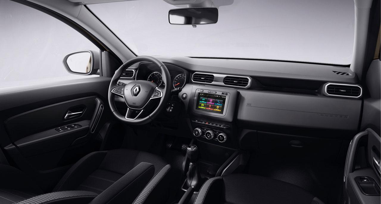 Interior Nueva Renault Duster