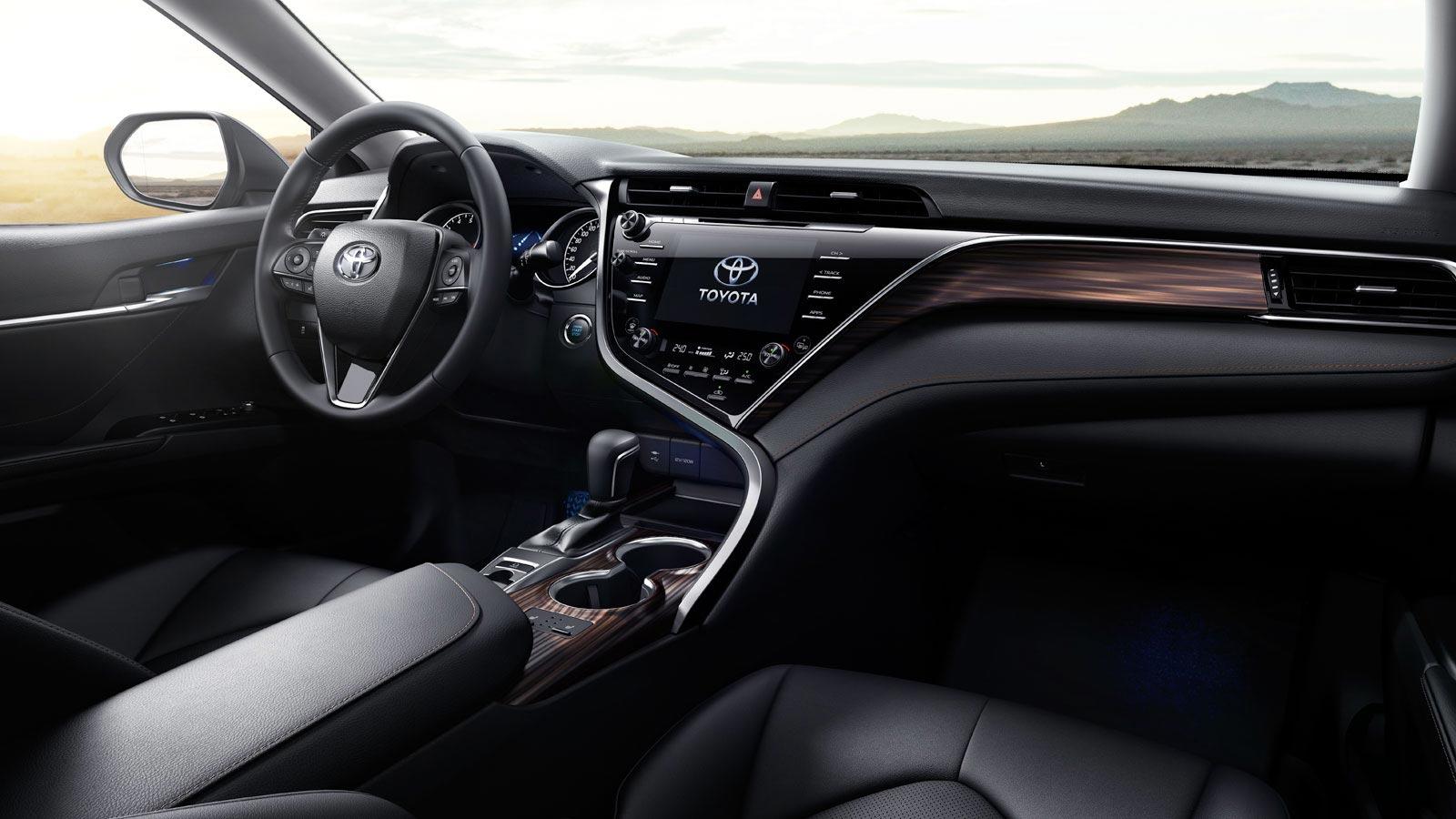 Interior Nuevo Toyota Camry