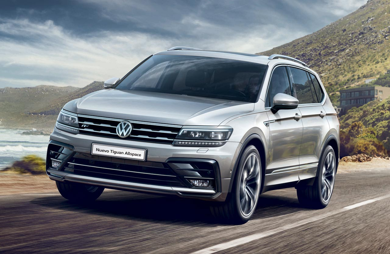 la nueva volkswagen tiguan allspace llega a argentina mega autos. Black Bedroom Furniture Sets. Home Design Ideas
