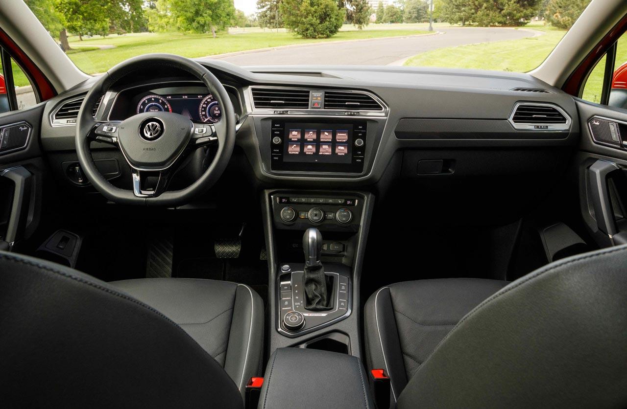 Interior Nueva Volkswagen Tiguan Allspace