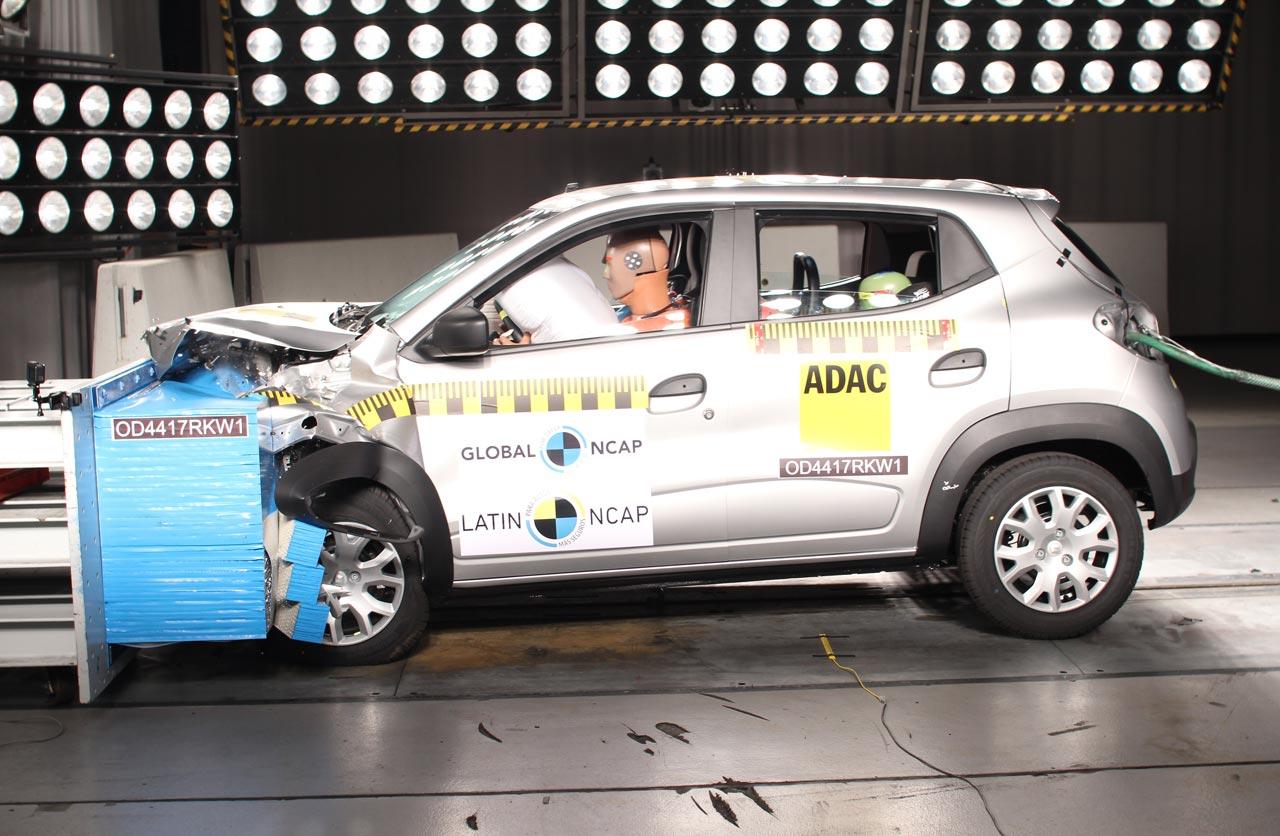 Renault Kwid, con 3 estrellas de Latin NCAP