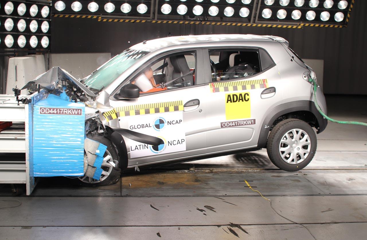 Renault Kwid seguridad