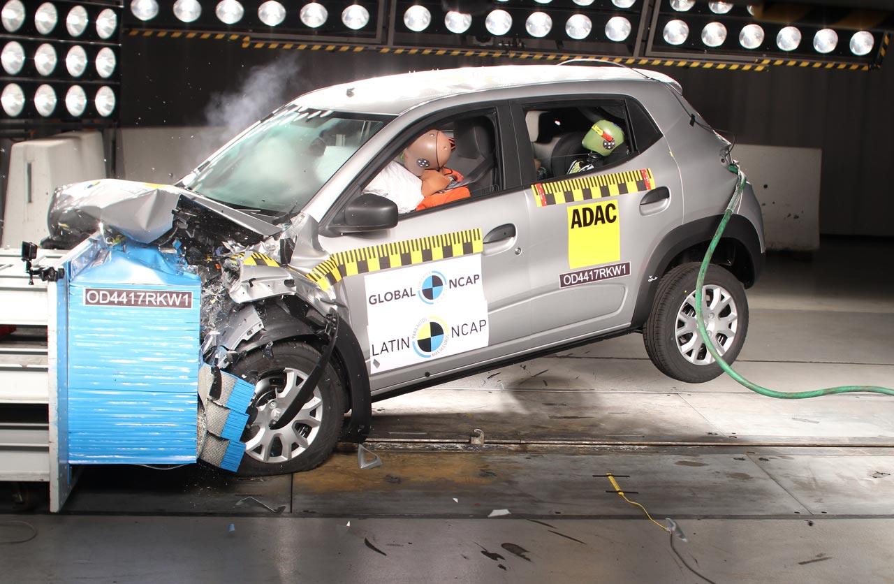 Renault Kwid prueba Latin NCAP