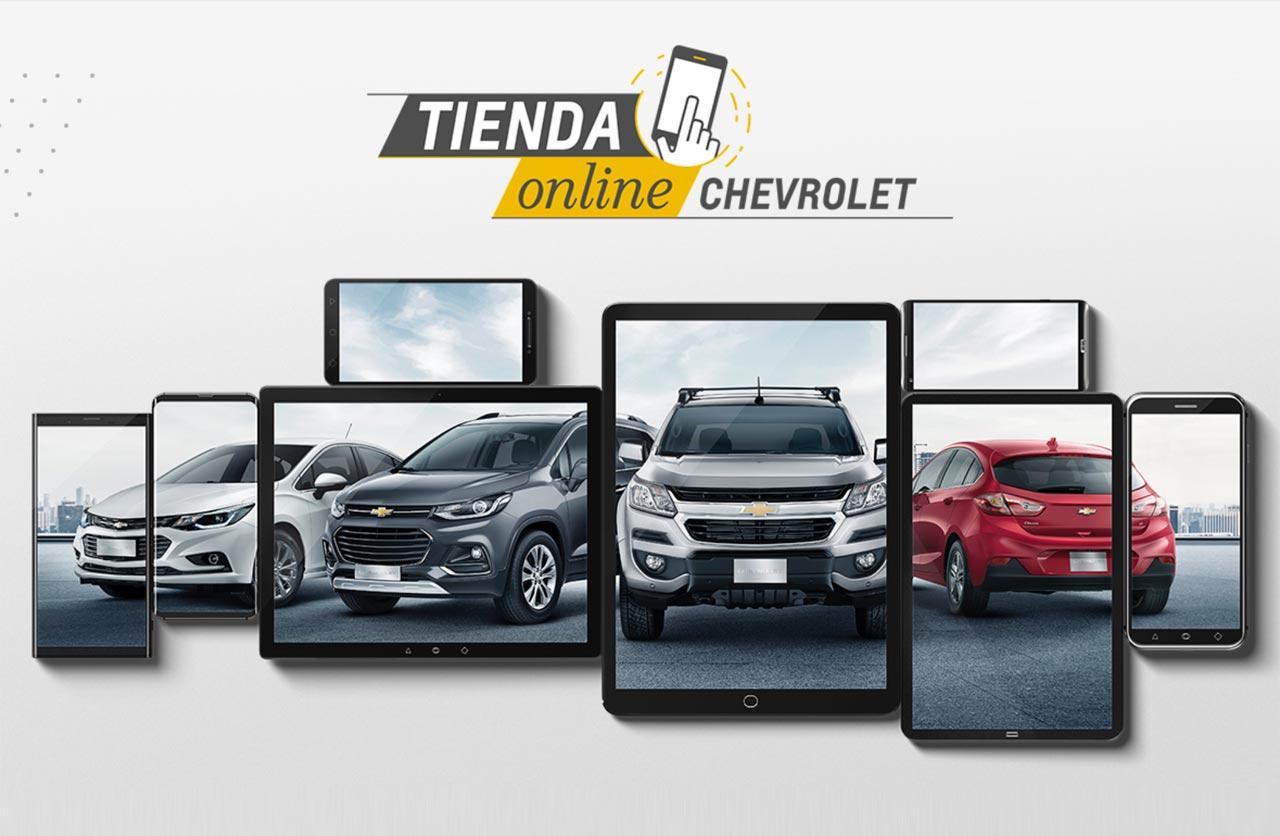 Chevrolet relanza su Tienda Online junto a Mercado Libre