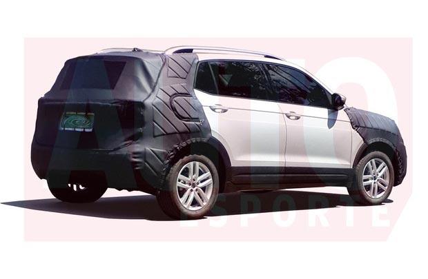 El SUV chico de Volkswagen, descubierto en Brasil