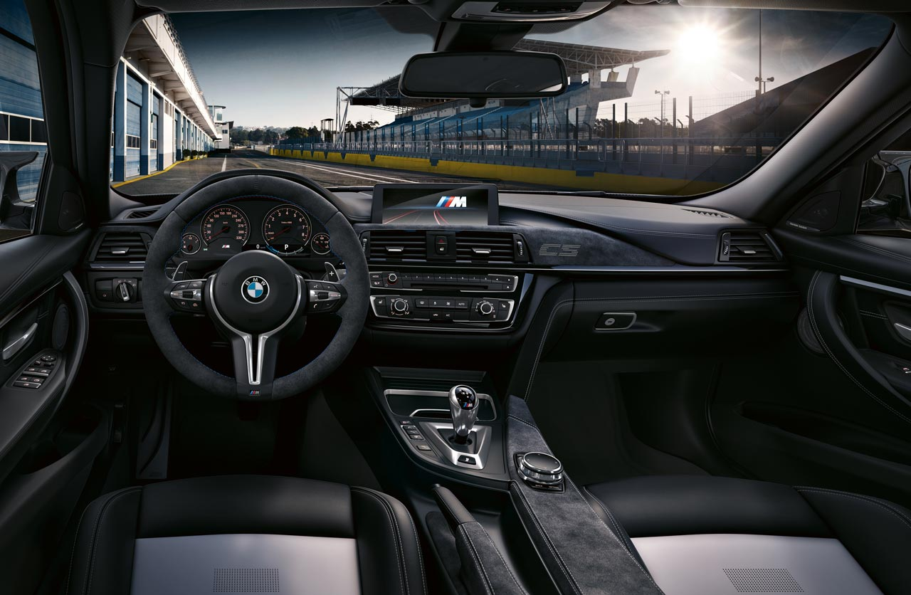 Interior BMW M3 CS