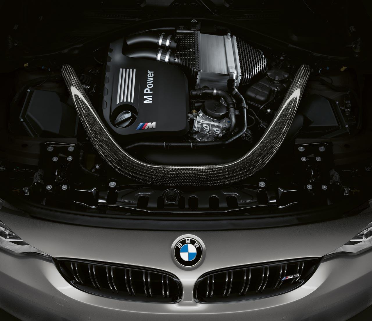 Motor BMW M3 CS