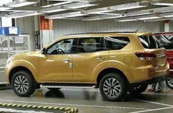 Se viene el nuevo SUV de la Nissan Frontier