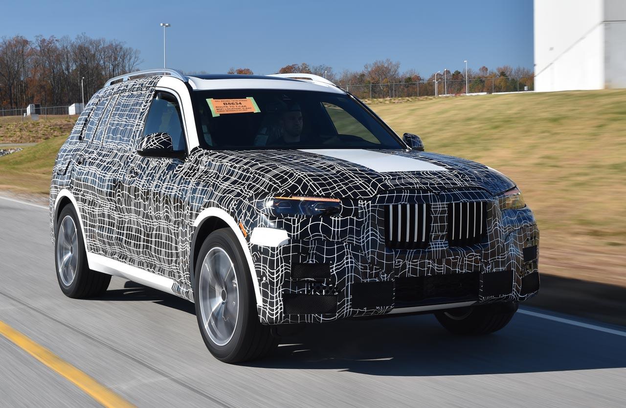 BMW X7 producción