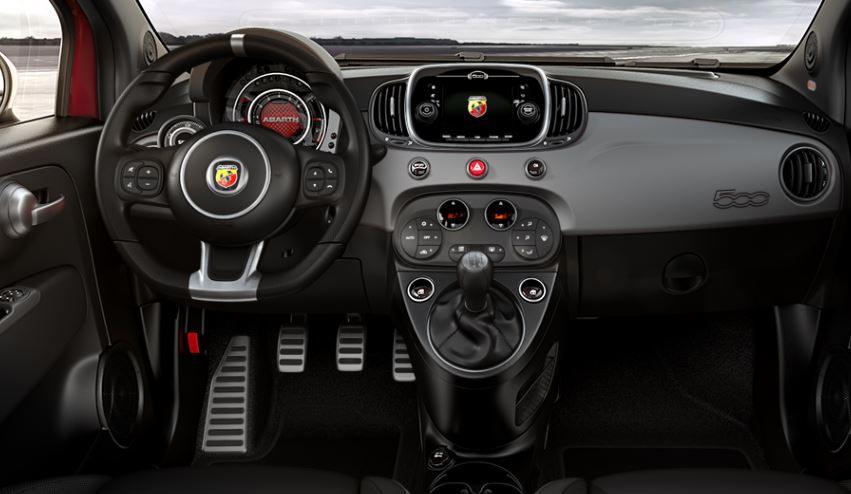 Interior Fiat 500 Abarth 595