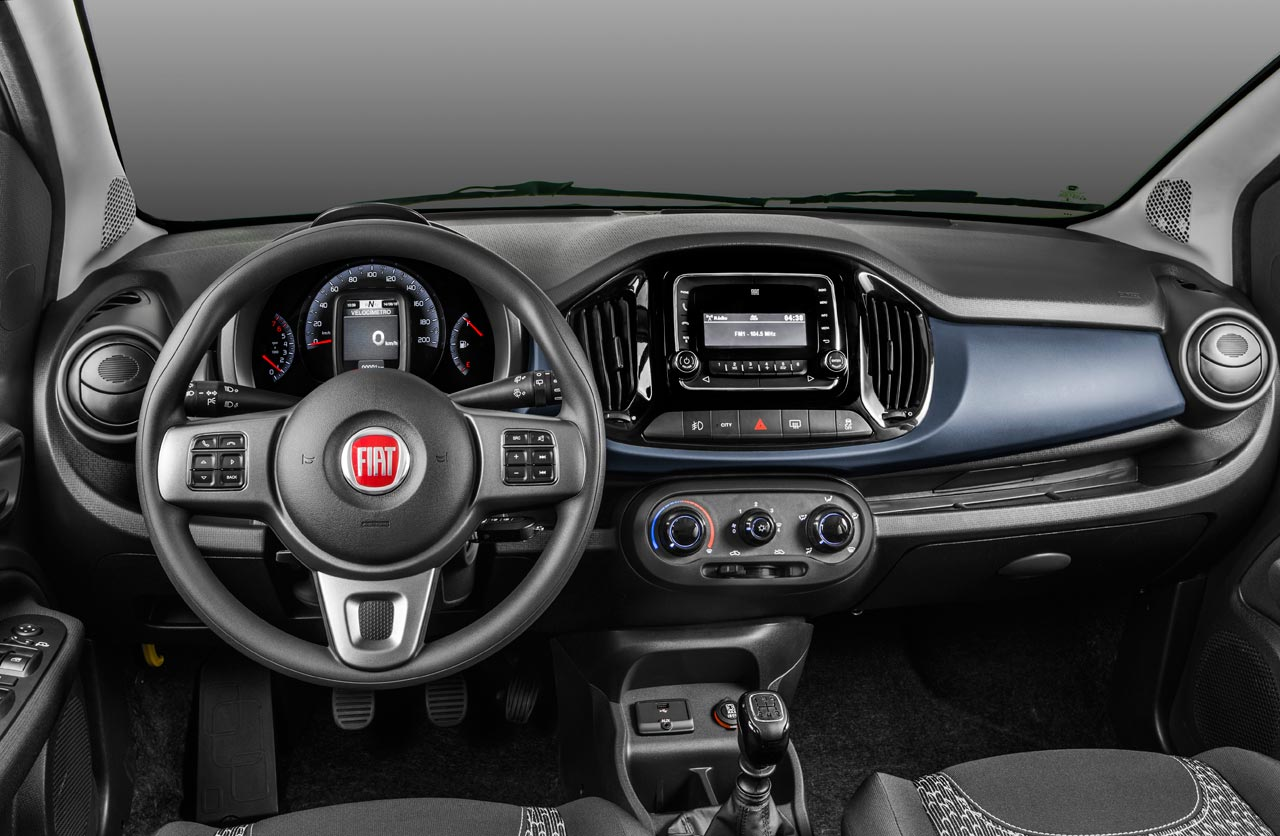 Interior Fiat Uno