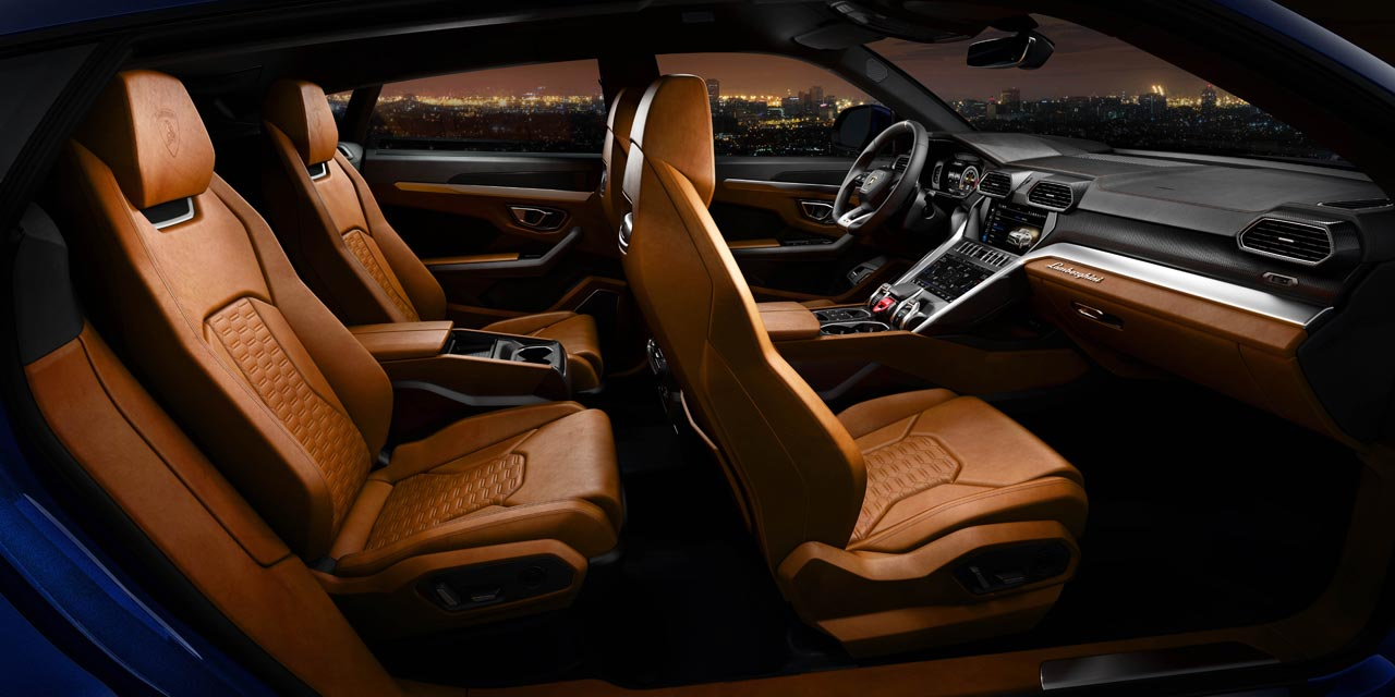 Interior Lamborghini Urus