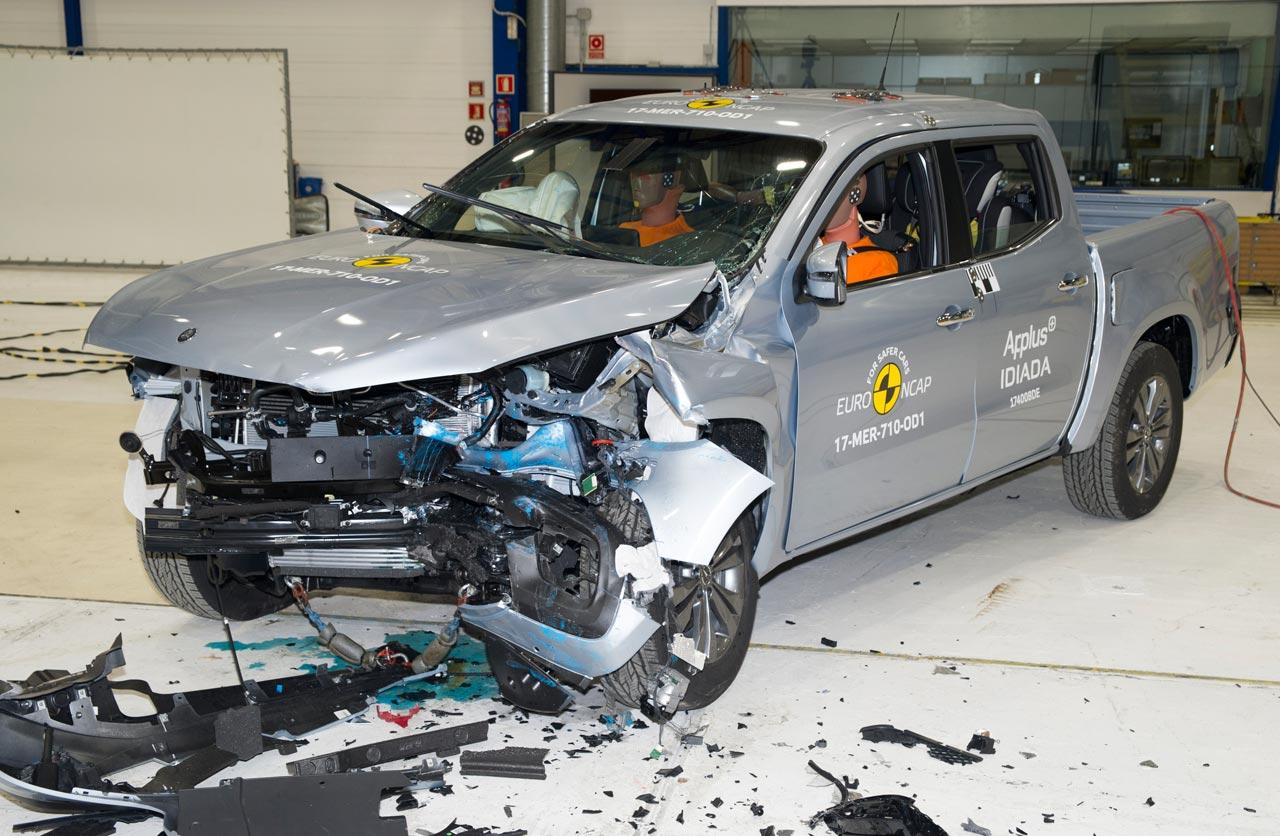 Mercedes-Benz Clase X Euro NCAP