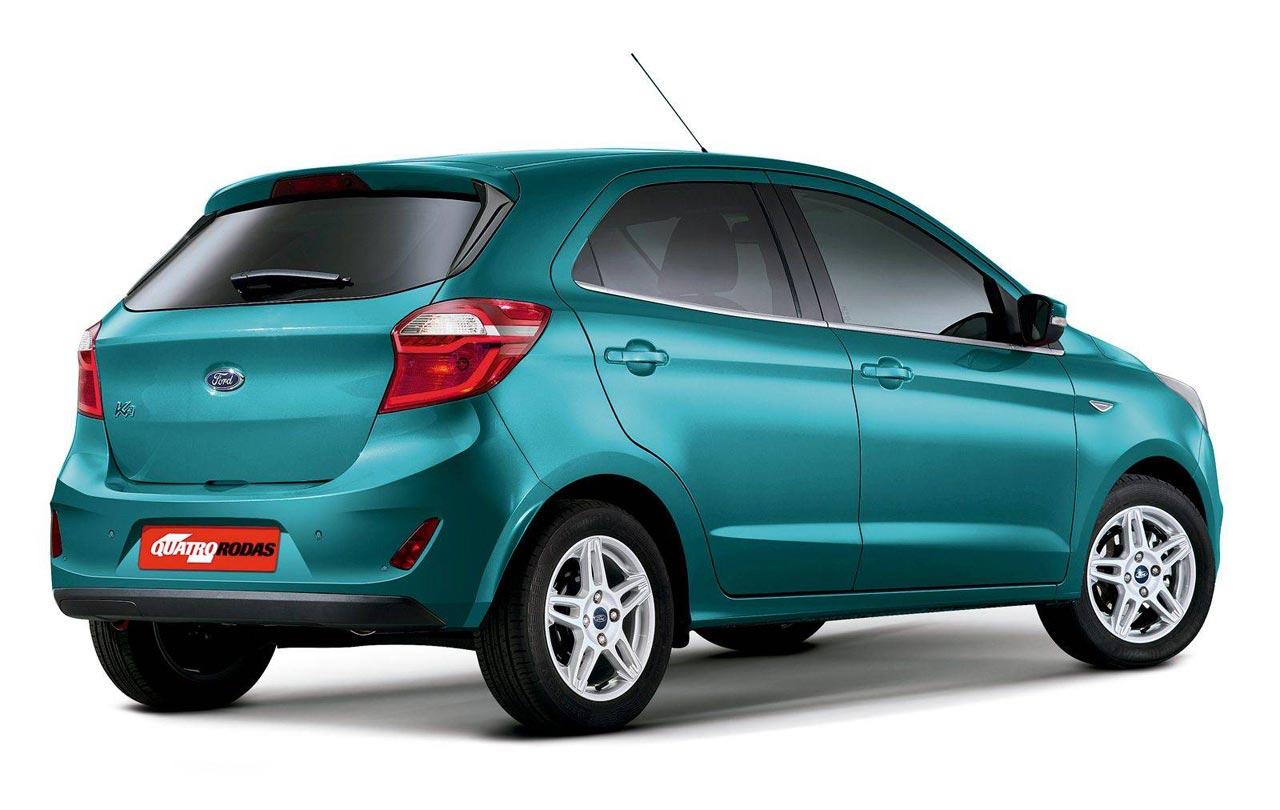 los cambios del ford ka  descubiertos en brasil