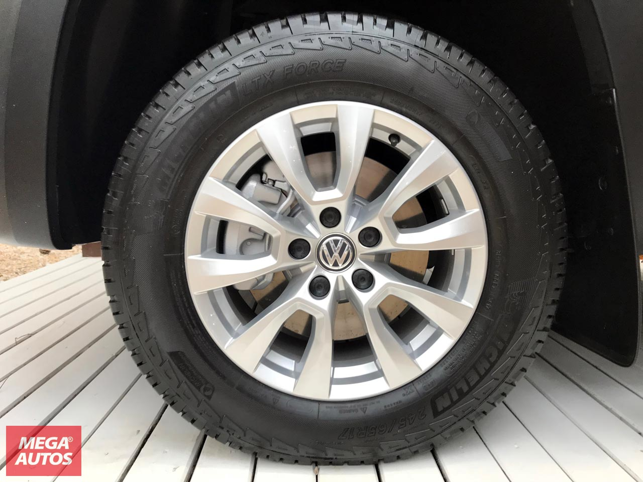 Llantas Volkswagen Amarok V6 Comfortline
