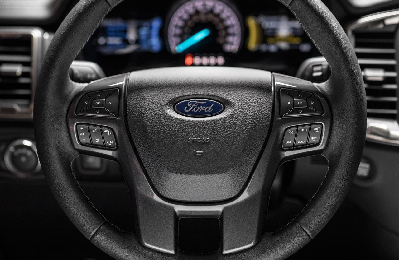 Interior Ford Ranger 2019