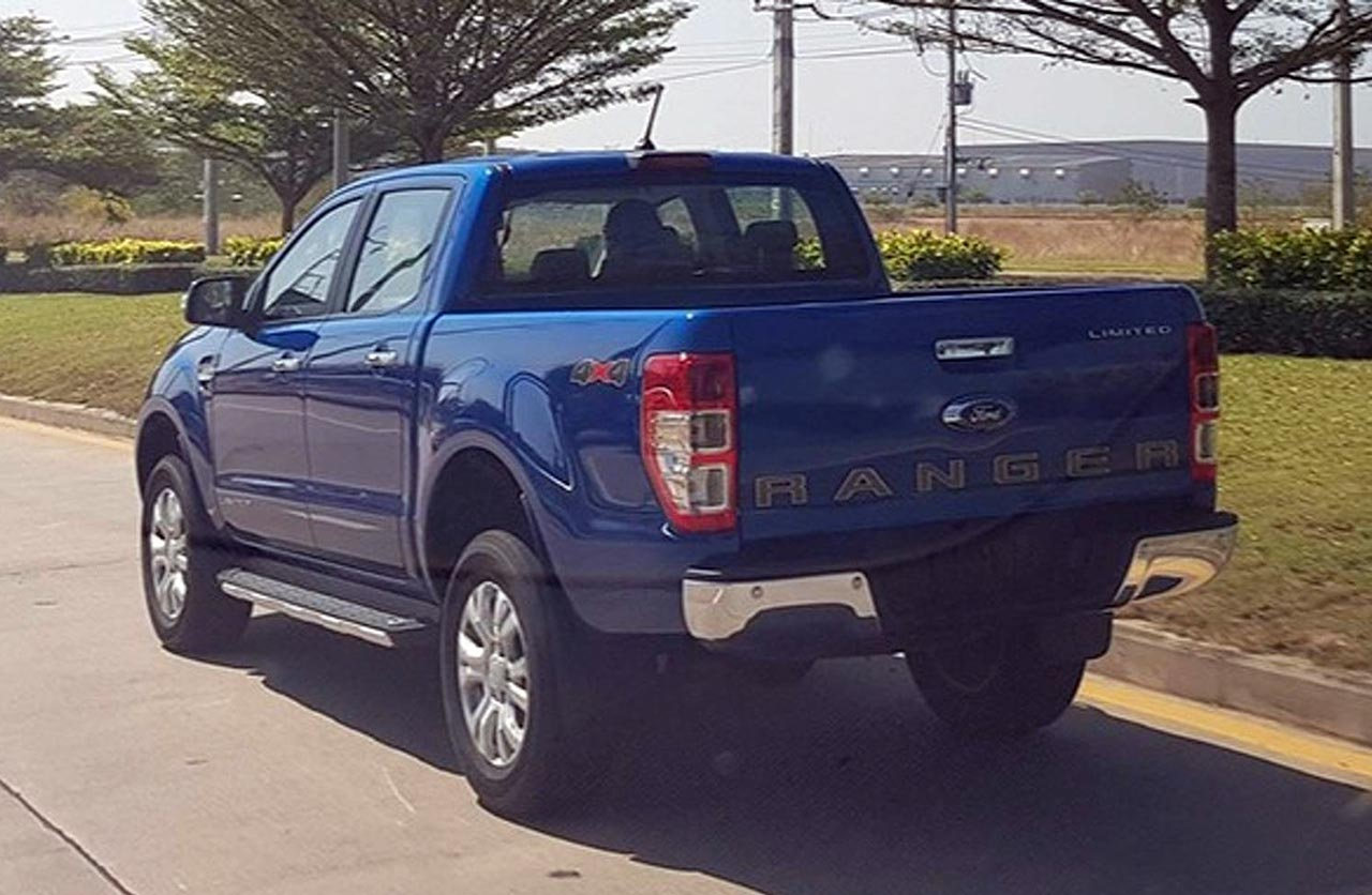 Restyling Ford Ranger Tailandia