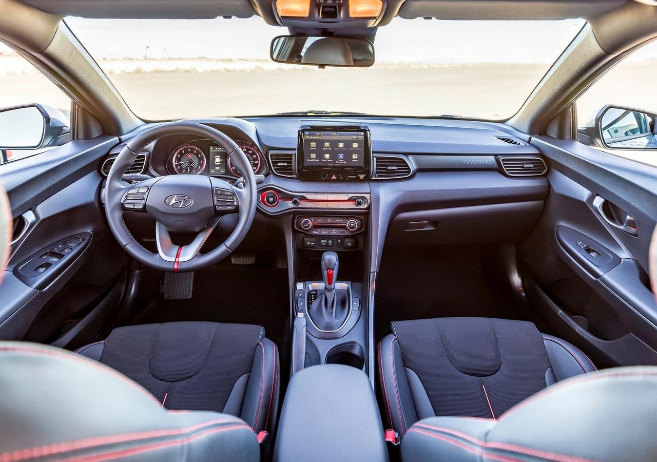 Interior Hyundai Veloster N 2019