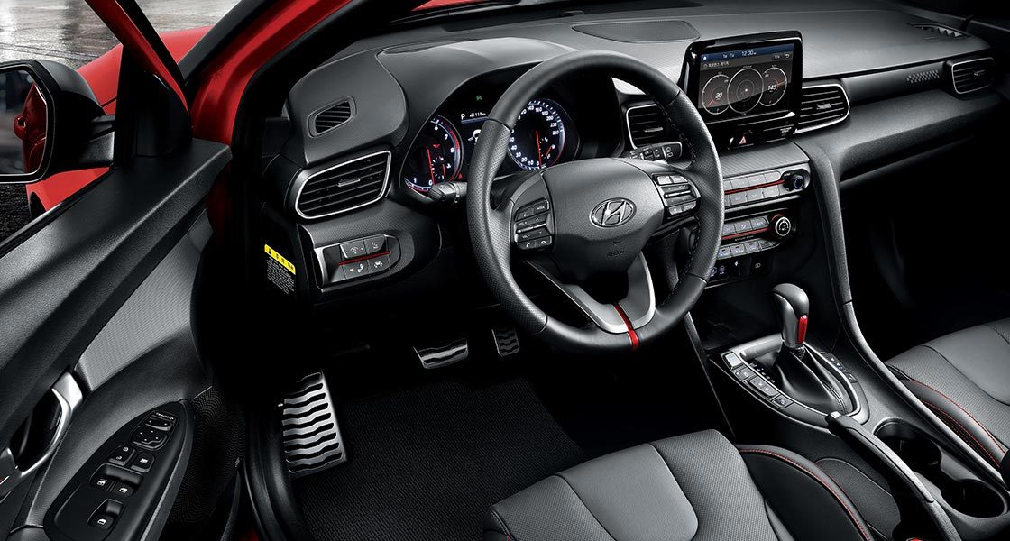Interior Hyundai Veloster 2019