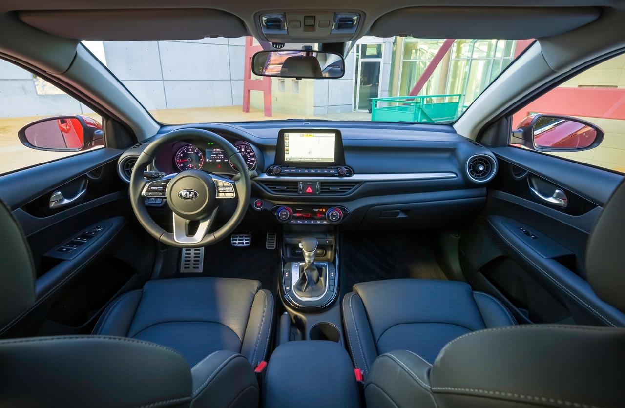 Interior Kia Cerato 2019