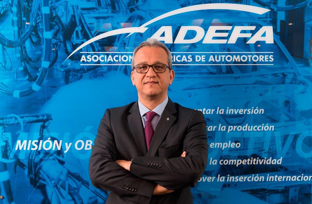 Luis Fernando Peláez Gamboa, presidente de ADEFA