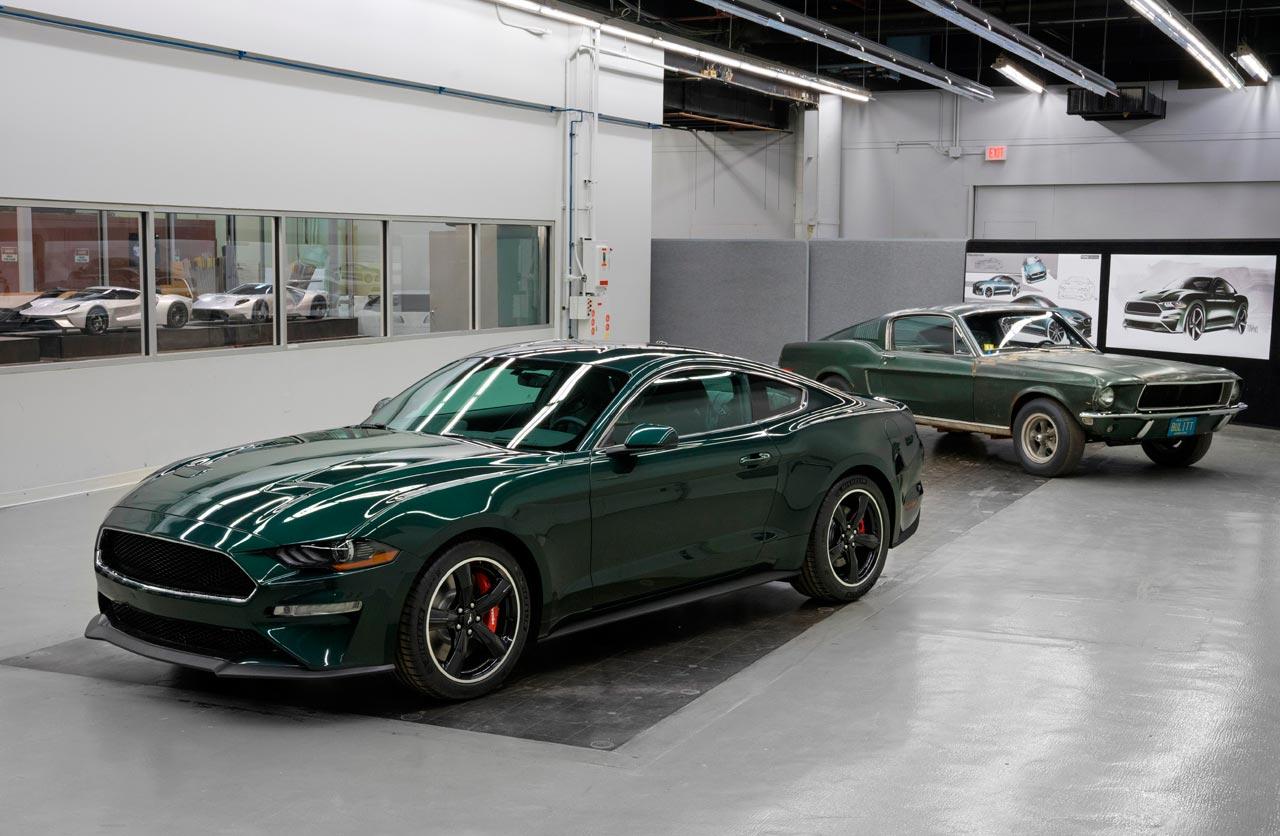 Ford Mustang Bullitt 2019 y 1968