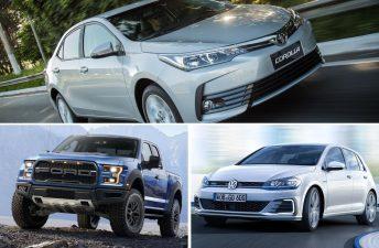 Los autos más vendidos en el mundo durante 2017