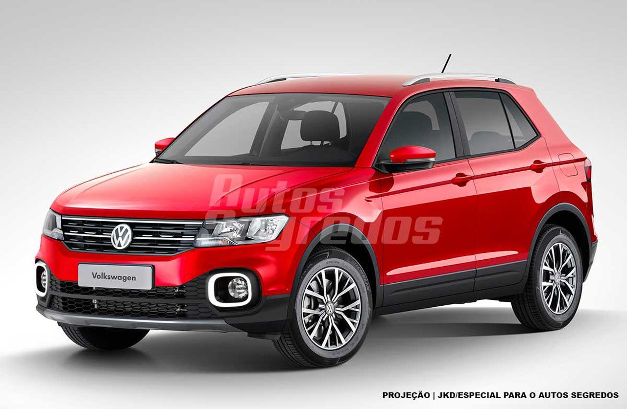 Anticipan el diseño del SUV chico de Volkswagen
