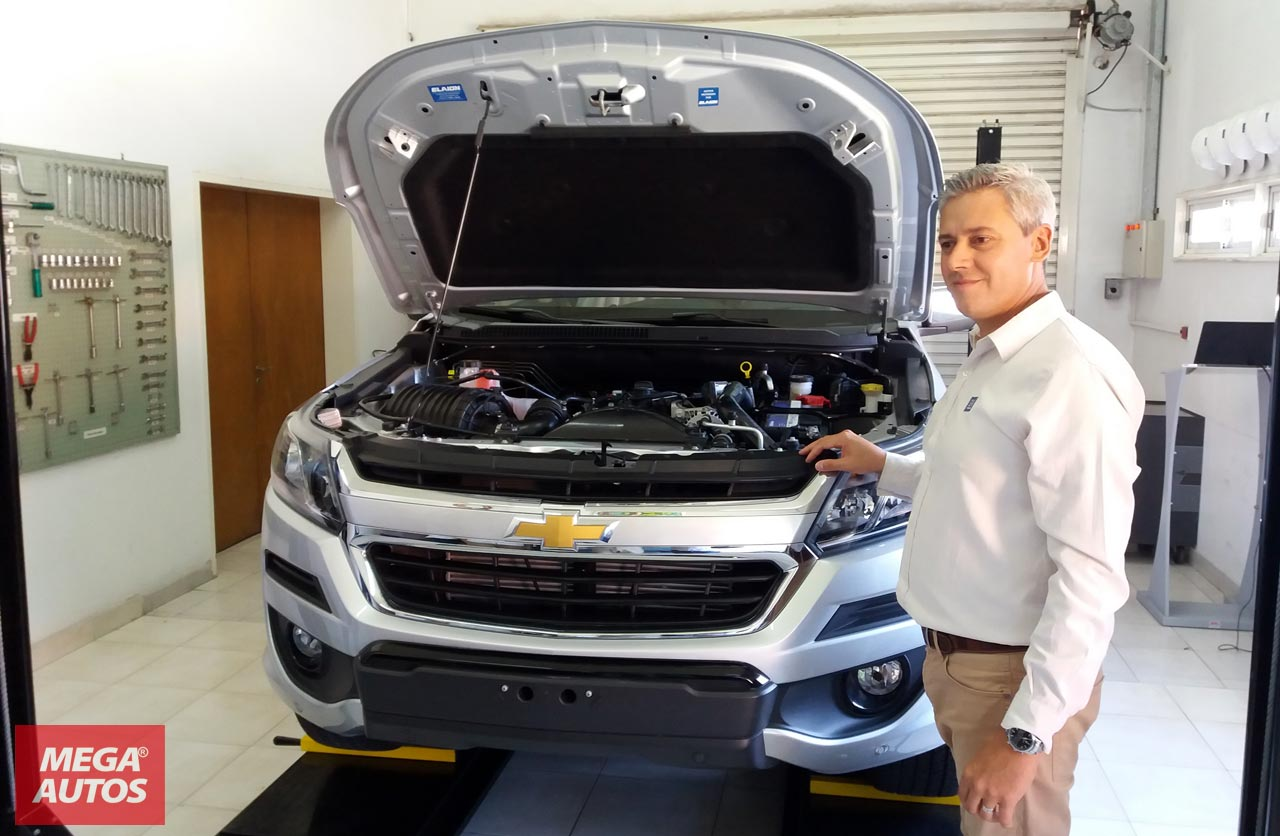 Sergio Antunes, instructor técnico de General Motors Mercosur