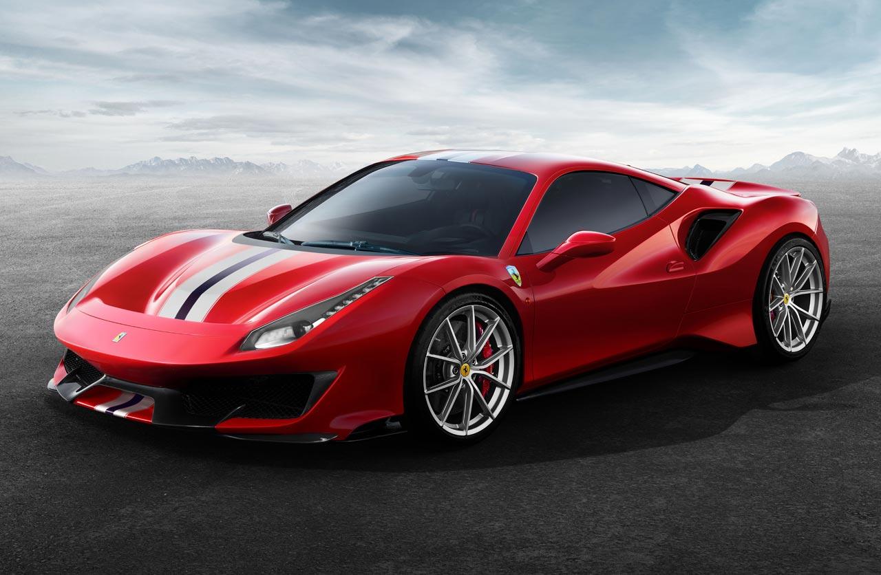 La Ferrari 488 Pista estrena el motor V8 más poderoso