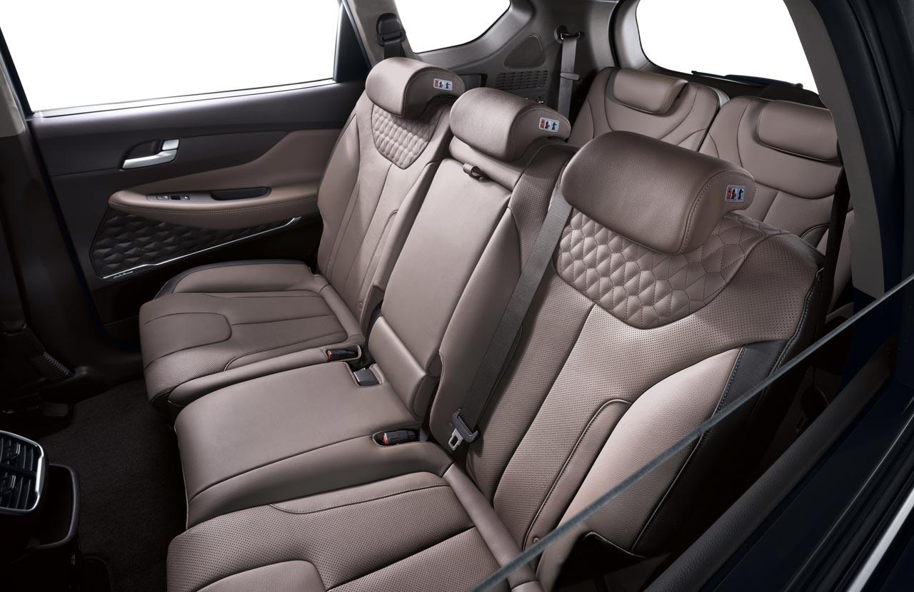 Interior Nueva Hyundai Santa Fe