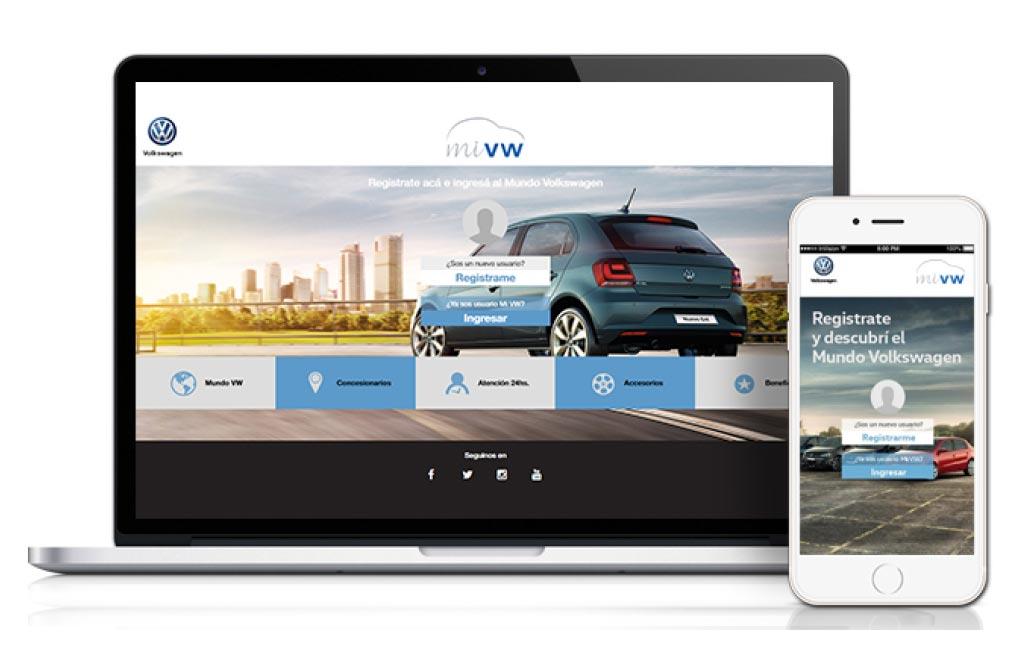 Mi VW, la plataforma digital para los clientes Volkswagen