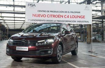 El Grupo PSA ya produce el nuevo Citroën C4 Lounge en Argentina